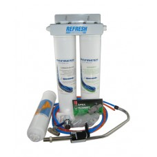 QUSX3-TK  TANK Water Triple Under Sink Filter