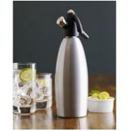 ISI Soda Siphon Silver 1 litre